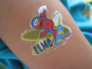 Sesame Street tat