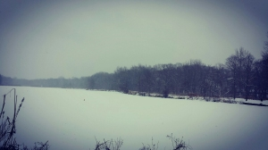running, snow, hope, zen, meditation